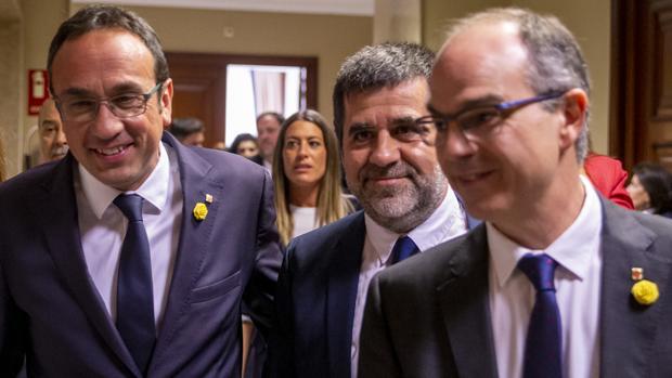 Diputados de Junts per Catalunya, en el Congreso