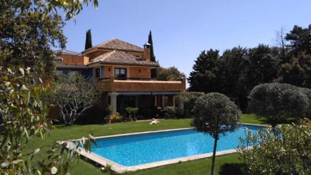 Una de las piscinas privadas en Madrid que se alquila en la aplicación de «Swimmy»