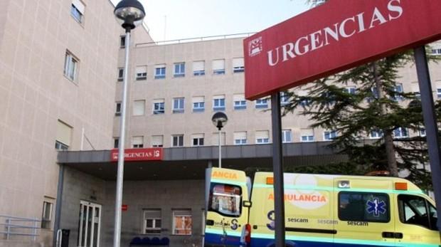 Entrada a las urgencias del Hospital Virgen de la Luz de Cuenca