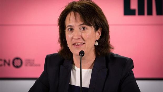 Imagen de la presidenta de la Assemblea Nacional Catalana (ANC), Elisenda Paluzie
