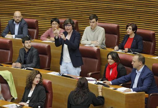 Pilar Lima, en las Cortes Valencianas