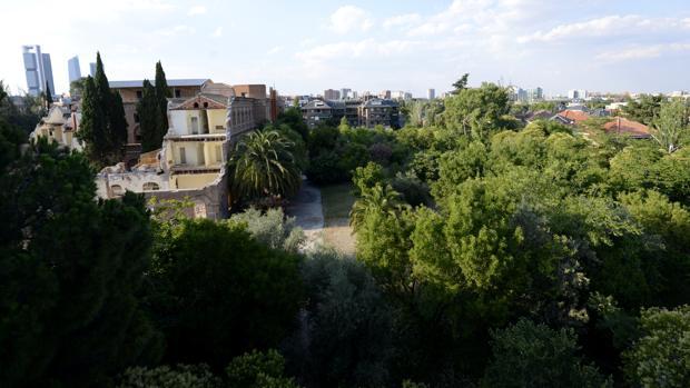 Vista del Convento de las Damas Apostólicas