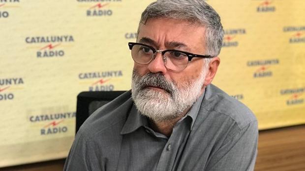 El líder de la CUP, Carles Riera
