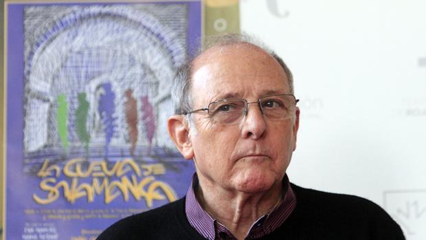 El actor durante la presentación de «La cueva de Salamanca» en Toledo