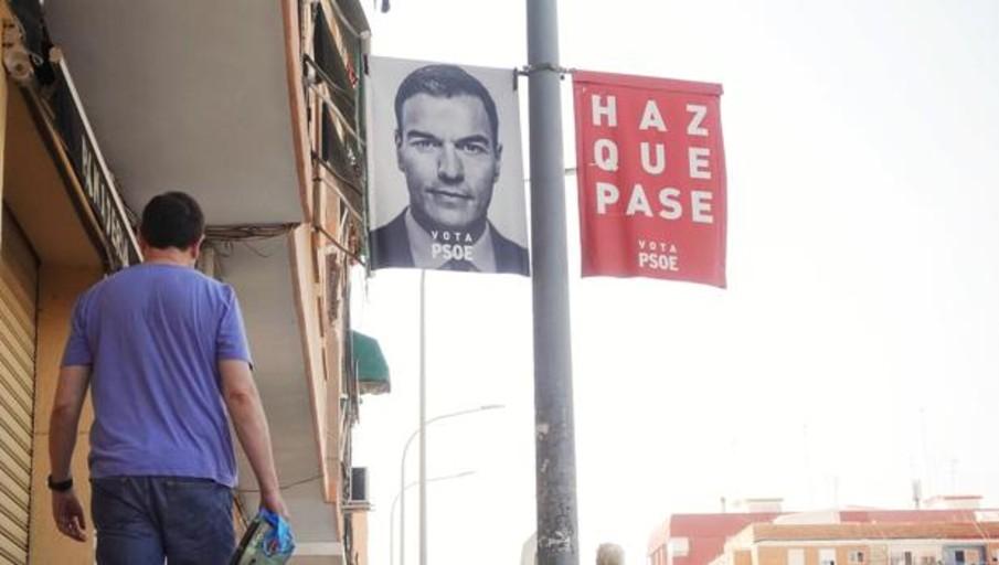 Los «primeros» carteles del PSOE con la propaganda electoral de Pedro Sánchez para las generales del 10-N