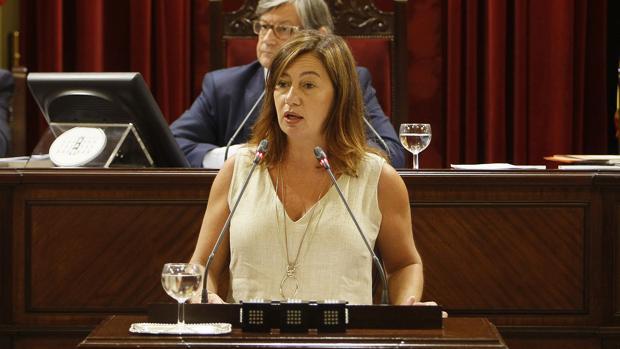 La presidenta del Gobierno de las Islas Baleares, Francina Armengol