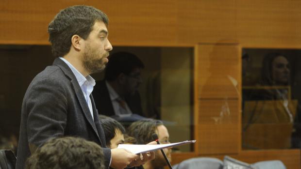 Hugo Martínez Abarca, diputado de Más Madrid en la Asamblea