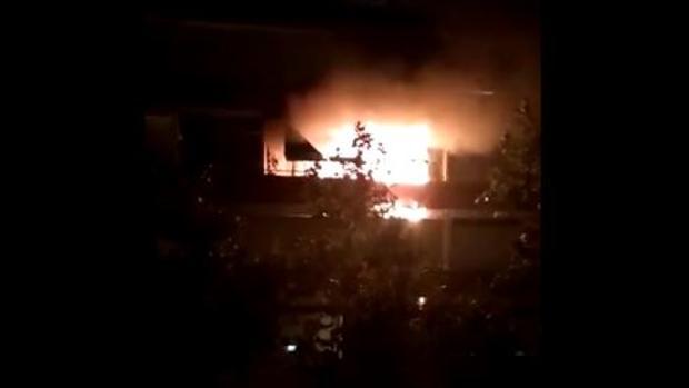 Incendio en un piso de Alcorcón