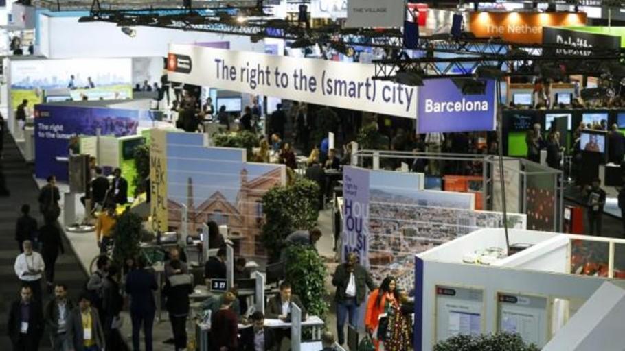 Más de 1.000 expositores de 700 países se citan en la Smart City Expo World Congress de Barcelona