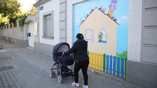 Imagen de archivo de una escuela infantil de Madrid