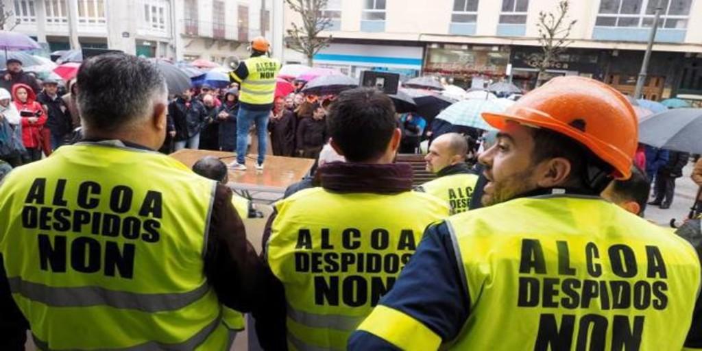 Alcoa traslada hoy a la plantilla de San Cibrao que la situación es «insostenible»