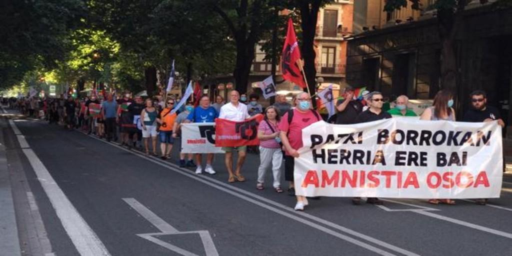 Permiten manifestaciones en favor del etarra Patxi Ruiz en varias ciudades de País Vasco y Navarra