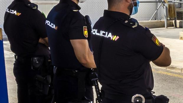 Varios agentes de Policía Nacional, en una imagen de archivo