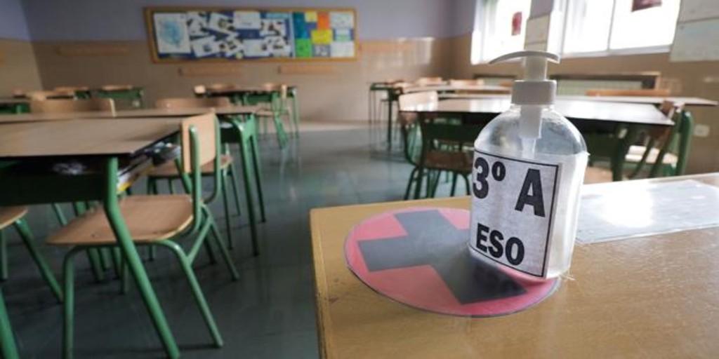 Aragón baraja una vuelta al cole con la mitad de días de clase a partir de 3º de ESO