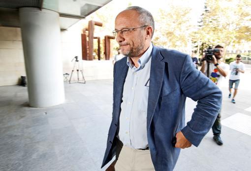 Archive image of Rafael Rubio in the courts of Valencia