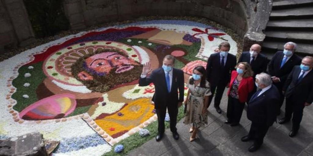 Santiago, con la pátina del Año Santo, se erige este domingo en epicentro institucional de España
