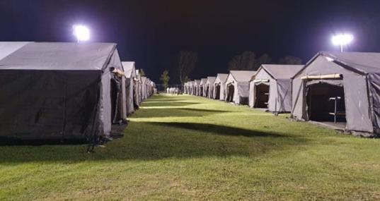Base de Rota, preparada para la acogida de colaboradores afganos de EE.UU.