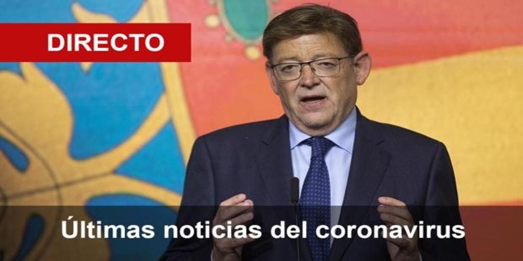 En directo: Ximo Puig anuncia las nuevas restricciones por el coronavirus en la Comunidad Valenciana