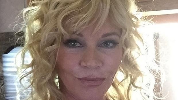 La actriz compartió la foto sin filtros ni retoques
