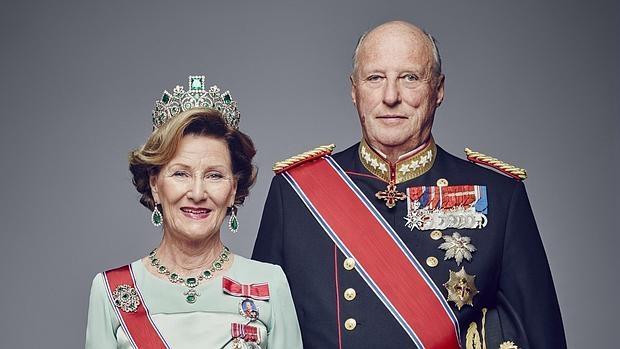 Sonia y harald de Noruega