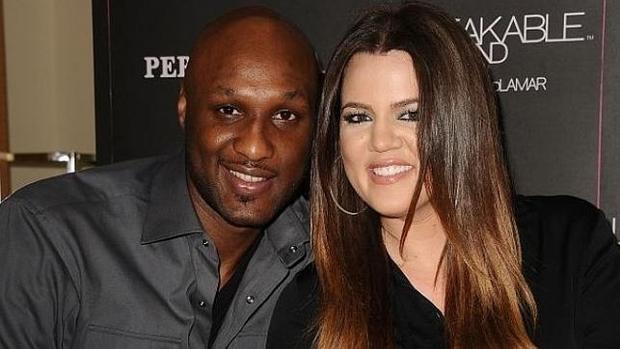Khloé Kardashian y Lamar Odom, la pareja feliz antes de su divorcio