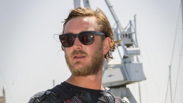 Pierre Casiraghi a bordo del catamarán «Malizia» en la 35 edición de la Copa del Rey