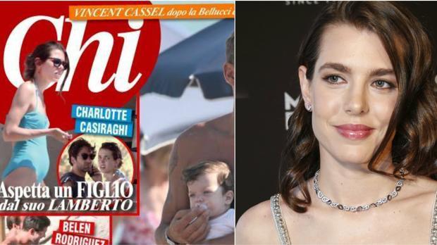 Carlota Casiraghi ha aparecido en portada de la revista italiana «Chi» por los rumores de su embarazo
