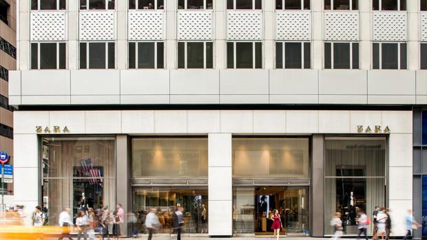 Una de las tiendas de Zara, en Nueva York