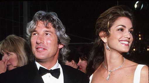 Richard Gere y Cindy Crawford