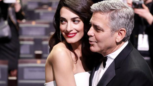 La pareja en los Premios Cesar de Francia
