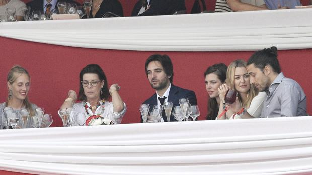 Borromeo, la princesa, Rassam, Casiraghi, Ortega y Torretta
