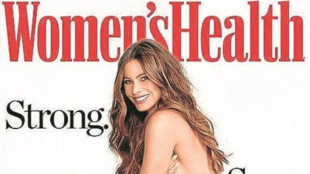 Sofía Vergara en su posado para la revista