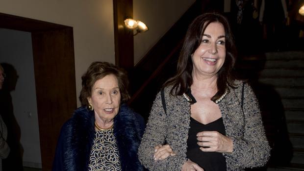 Carmen Martínez-Bordiú y su madre