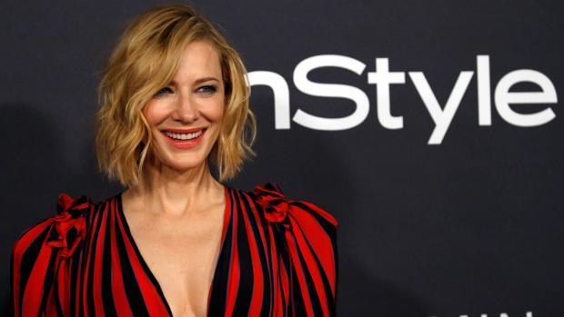 Cate Blanchett, en la gala de los premio «InStyle» celebrada en Los Ángeles