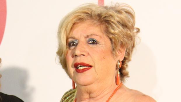 María Jiménez en los Premios Escaparate de Sevilla