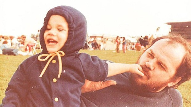 Meghan Markle y su padre