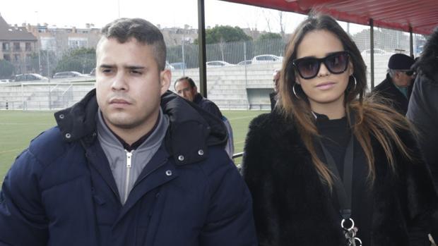 José Fernando y Gloria Camila durante la 6 edición del memorial «Tony Leblanc» en Madrid.