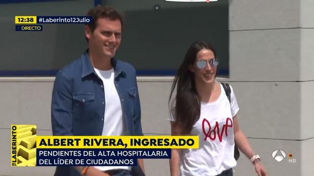 Albert Rivera y Malú