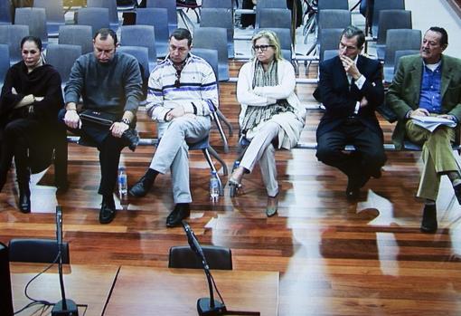 Julián Muñoz, Isabel Pantoja, Maite Zaldívar