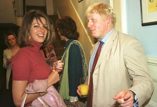 Petronella Waytt y Boris Johnson