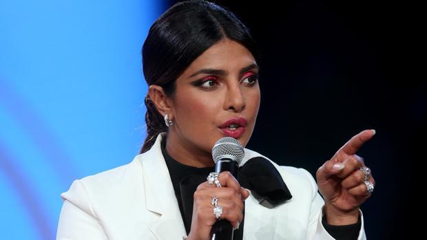 Priyanka Chopra durante la Beautycon en Los Ángeles