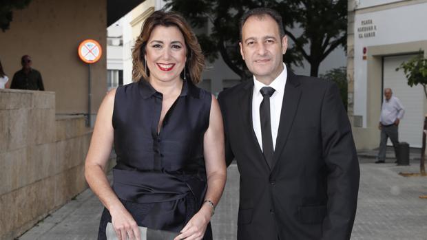 Susana Díaz y José María Moriche