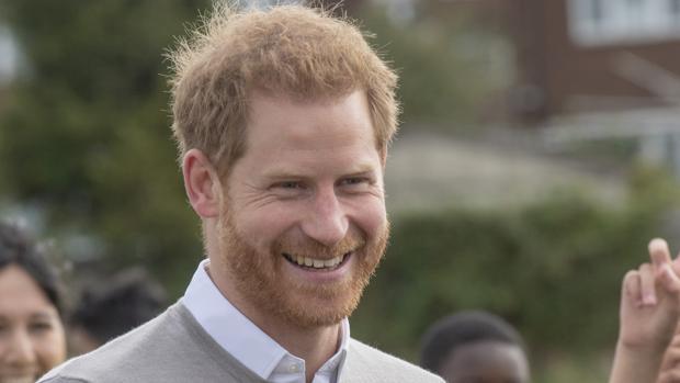 El Príncipe Harry de Inglaterra