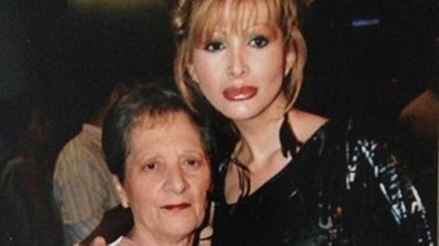 Yurena y su madre