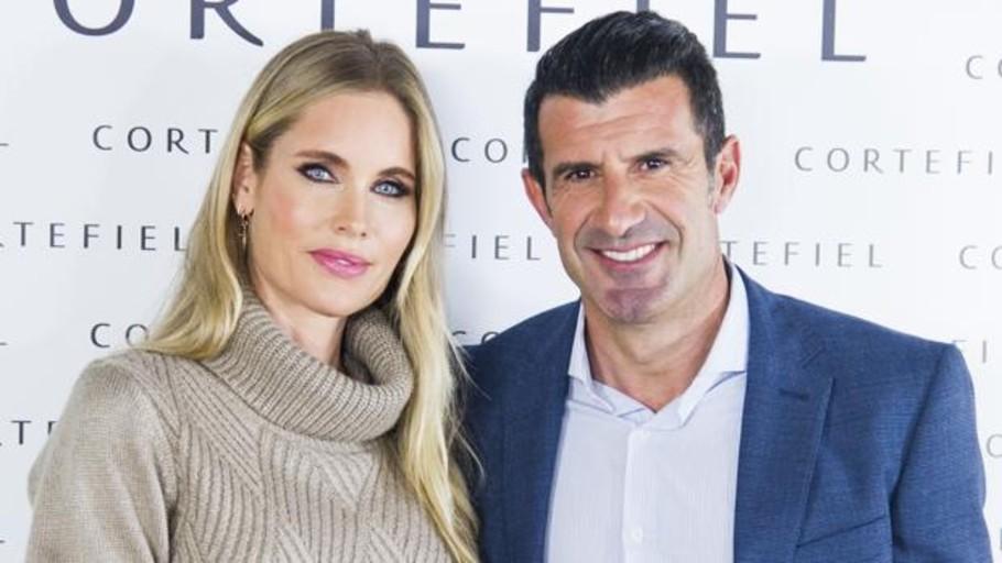 Luis Figo y Helen Svedin, la pareja de oro de la publicidad