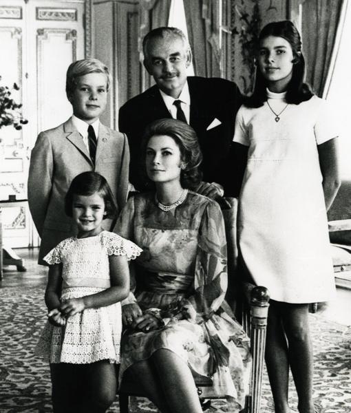 Grace Kelly, Alberto II De Mónaco, Carolina De Mónaco, Estefanía De Mónaco, Rainiero III De Mónaco