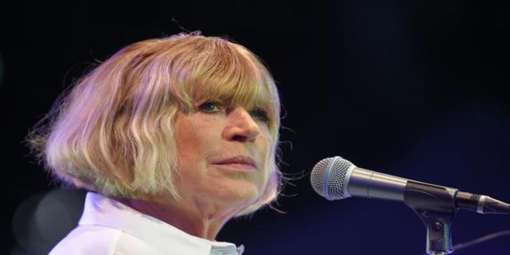 Marianne Faithfull, ingresada por coronavirus en un hospital de Londres