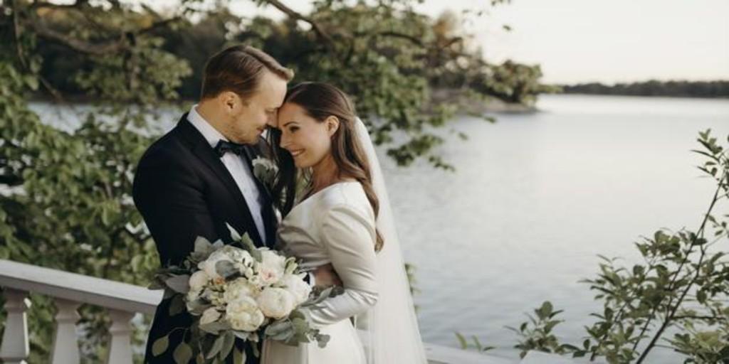 La primera ministra de Finlandia se casa en una ceremonia íntima con Markus Räikkönen