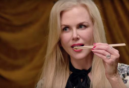 Nicole Kidman prefiere los gusanos