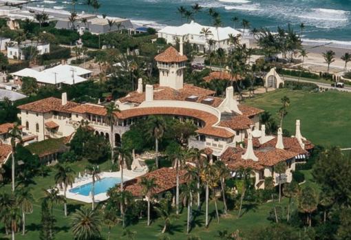 Mar-A-Lago, propiedad de los Trumps en primera línea de playa